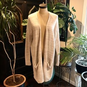 Express wool blend slouchy sweater cardigan